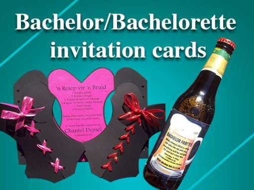 Bachelors Invitations
